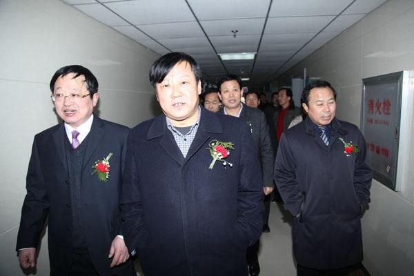 2012年2月省卫生厅副厅长李建国来我院视察